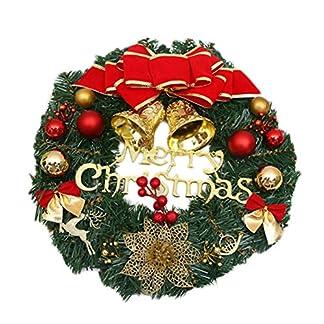 Leisial-Kreativ-Weihnachten-Trkranz-Weihnachten-Dekoration-Weihnachtsgirlande-Krnze-30-35CM