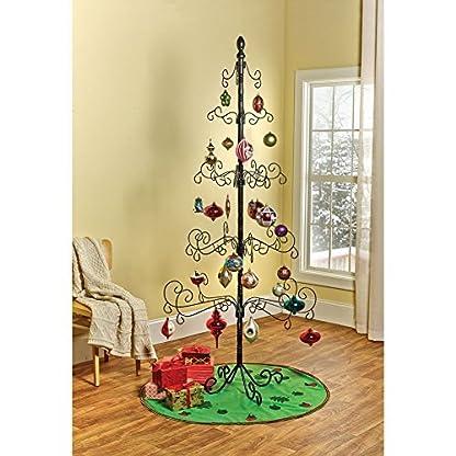 Kalalou-Schmiedeeisen-Weihnachten-Ornament-Display-Baum-2108-cm