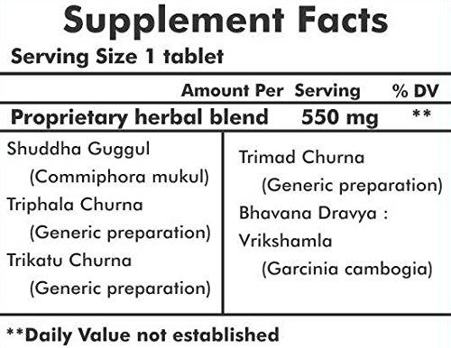 Herbal Hills Trimohills Weight Loss Formula 550mg , 900 Tabletten – Schlankheitsmittel, Gratisversand