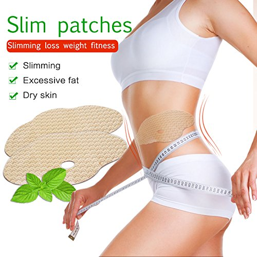 Belly Slimming Wonder Patch,Slim Patches Abdomen Treatment Weight Loss Fat Burner -Natural Slimming Diet Fat Belly Wing Wonder Treatment Anti-Obesity Slimming Patches (10pcs/1 pack)