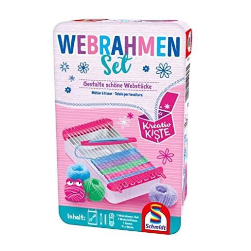 Schmidt-51603-Webrahmen-Set-Rosa