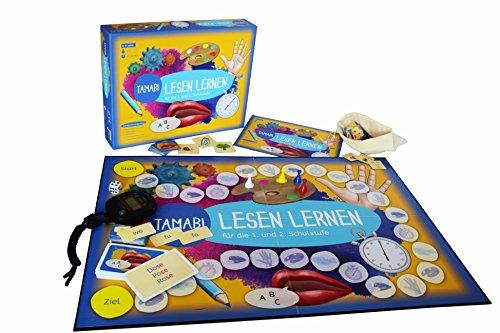 Lesen-lernen-Spiel-Tamabi-Lesen-lernen-Buchstaben-lernen-Silben-und-erste-Wrter-lesen-und-mit-Spa-flssig-lesen-lernen-Lernspiele-ab-6-Jahre-Lese-lern-Spiel-fr-die-1-Klasse-und-2-Klasse