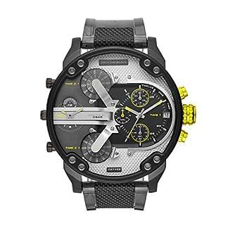 Diesel-Herren-Analog-Quarz-Uhr-mit-PU-Armband-DZ7422