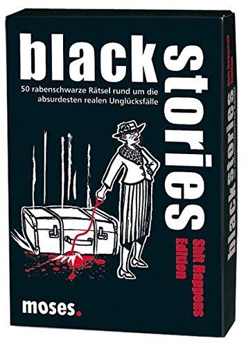 moses-black-stories-Shit-Happens-Edition-50-rabenschwarze-Rtsel-Das-Krimi-Kartenspiel