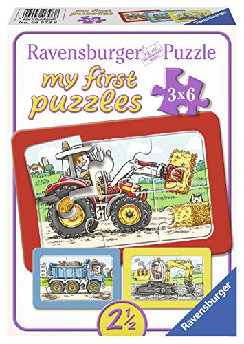 Ravensburger-06573-Bagger-Traktor-und-Kipplader