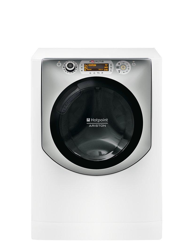 HOTPOINT-aqs73d-29-EUA-autonome-Belastung-Bevor-7-kg-1200trmin-A-Silber-wei-Waschmaschine–Waschmaschinen-autonome-bevor-Belastung-silber-wei-rechts-LCD-Bernstein