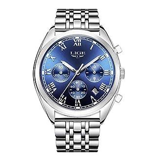 Armbanduhr-fr-Herren-Chronograph-mit-Leuchtfunktion-analog-Quarzwerk-klassisches-elegantes-Design-Armband-aus-Stahl-Zifferblatt-Blau