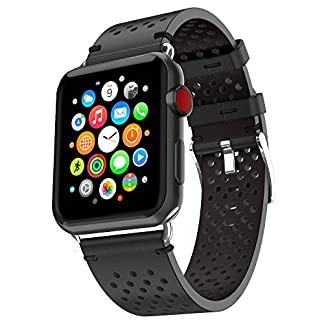 FENGT-Leder-Polka-Dot-384240-44Mm-Iwatch-Serie-Fr-Apple-Watch-1-2-3-4-Nike-Sports-Ersatzband-Smart-Strap-Armband-Handschlaufe