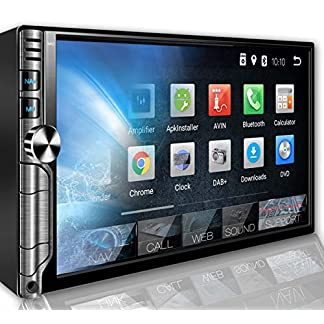 Tristan-Auron-BT2D7018A-Autoradio-mit-Navi-7-Touchscreen-Bildschirm-Android-80-GPS-Navi-Bluetooth-Freisprecheinrichtung-Octa-Core-MirrorLink-USBSD-OBD-2-DAB-2-DIN