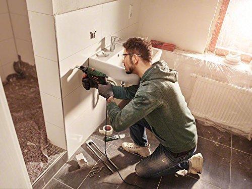 Bosch-DIY-Schlagbohrmaschine-Zusatzhandgriff-Tiefenanschlag-Koffer-550-W-max-Bohr–Holz-25-mm-Beton-10-mm-Stahl-8-mm