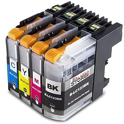 Premium-Kompatible-Druckerpatronen-als-Ersatz-fr-Brother-LC-123-125-127-XL-Serie
