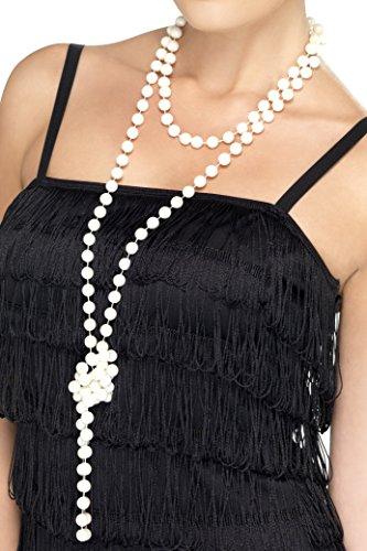 Perlenkette 180cm lang, One Size