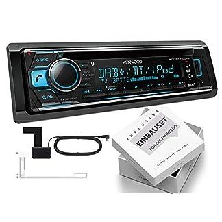 Kenwood-KDC-BT710DAB-1-DIN-Autoradio-mit-DAB-inklusive-Antenne-Bluetooth-fr-Mazda-MX-5-II-Facelift-NB-2000-2005-schwarz