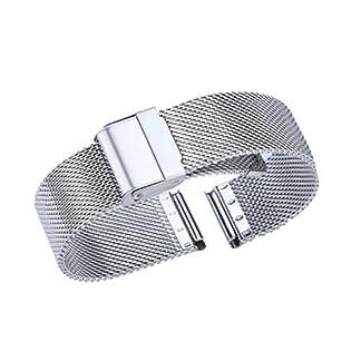vorzgliches-mesh-Uhrarmband-massiver-Edelstahl-High-End-Milanese-loop-Metallverbindung-Uhrgurt