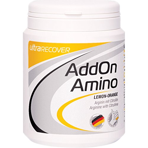 Ultra-SPORTS AddOn Amino Lemon-Orange Arginin mit Citrullin 310g Dose neue Rezeptur