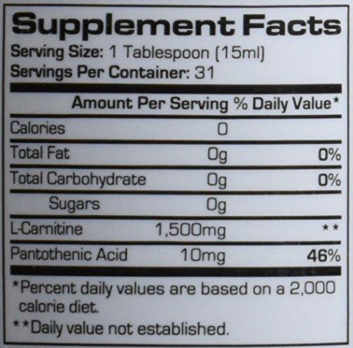 Prosupps L-Carnitine 1500 Blue Raspberry 473 ml