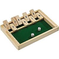 Beluga-Spielwaren-10021-Klappbrett-aus-Holz-aufregendes-und-kniffliges-Wrfelspiel
