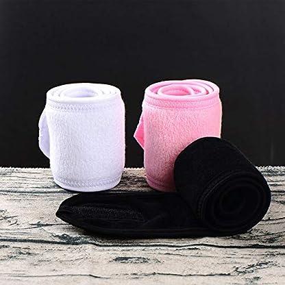 pu-ran-Dehnbares-waschbares-Make-up-Haarwickel-Gesichtswaschkopf-Handtuch-Spa-Schwei-Stirnband