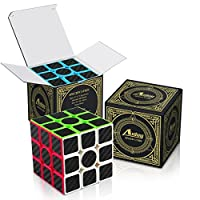 Zauberwrfel-3×3-Aiduy-Speed-Cube-Kohlefaser-Aufkleber-fr-Smooth-Magic-Wrfel-Puzzles