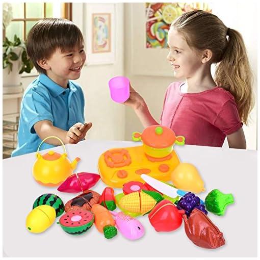 YoungRich-Schneideobst-Zubehr-Spielzeug-Lebensmittel-Kinderkche-Schneiden-Obst-Gemse-Vorgeben-Spielen-Korb-Pdagogisches-Rollenspiele-fr-Vorschulerziehung