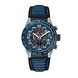 TAG-Heuer-Carrera-Herren-Armbanduhr-45mm-Blau-Automatik-Analog-CAR2A1NFT6100