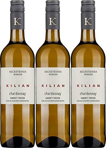 Becksteiner-Winzer-eG-KILIAN-Chardonnay-Kabinett-2016-Trocken-3-x-075-l