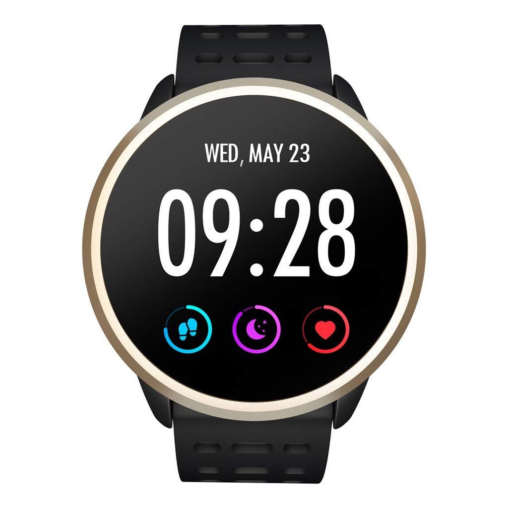 A-Artist-Bluetooth-Smartwatch-Fitness-Uhr-Intelligente-Armbanduhr-Fitness-Tracker-Smart-Watch-Sport-Uhr-Schrittzhler-Schlaftracker-Romte-Capture-Kompatibel-mit-Android-Smartphone