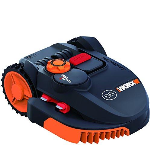 Worx Wr102si1 Mähroboter Landroid 20 V Schwarz Orange