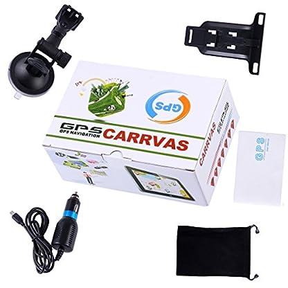 CARRVAS-7-Zoll-GPS-Navi-Europe-Traffic-Navigationsgert-mit-lebenslangen-Kartenupdates-fr-ganz-Europa-fr-LKW-KFZ-TAXI-Fahrspurassistent-Sprachfhrung-Blitzerwarnungen-7inch