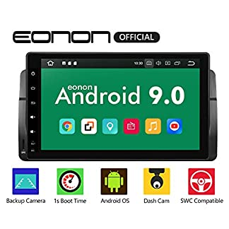 eonon-GA9350B-Android-9-fit-BMW-3-E46-1999-2004-Indash-Auto-Digital-Audio-Video-Stereo-Autoradio-229-cm-LCD-Touchscreen-GPS-Navigationsgert-Bluetooth-FM-AM-RDS-USB-WiFi-OBD2-4G-Headunit-NO-DVD