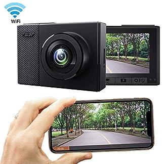 PEBA-Dashcam-WiFi-Auto-Kamera-Full-HD-1080P-Auto-Armaturenbrett-Cam-150-Weitwinkel-Super-mit-Nachtsicht-Loop-Aufnahme-Bewegungserkennung-Park-berwachung