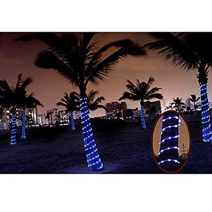 BXROIU-Tragbar-Solar-Lichtschlauch-Lichterkette-12m-100-LEDs-Wasserdicht-IP65Auenlichterkette-LED-Lichterketten-Fr-Hochzeit-Party-und-Weihnachten-Weihnachtsbeleuchtung