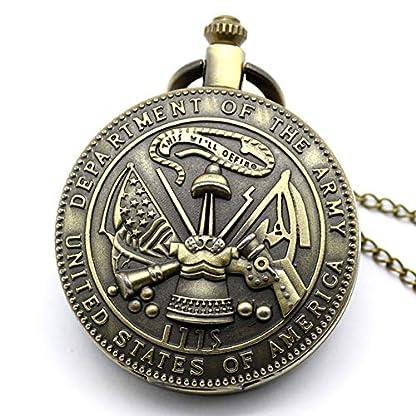Taschenuhr-Taschenuhr-antike-Armee-Quarz-Taschenuhr-Mnner
