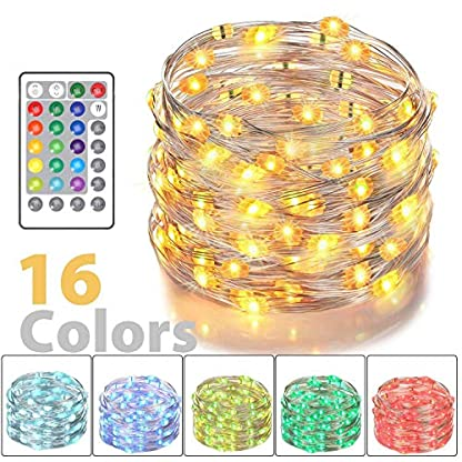 LED-Lichterkette-Nasharia-5m-50-LEDs-Batterienbetriebe-Lichter-16-Farben