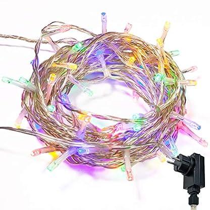 Lichterkette-WISD-Innen-und-Auen-LED-Beleuchtung-mit-EU-Stecker-auf-Transparent-Kabel-fr-Weihnachten-Garten-Festival-Party-Hochzeit-Dekoration-Weihnachtsbaum-Deko