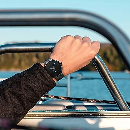 Herren-Uhr-Mnner-Wasserdicht-Minimalism-Schwarz-Edelstahl-Mesh-Armbanduhr-Mann-Sport-Luxus-Modisch-Design-Ultra-Dnne-Einfach-Analog-Uhren