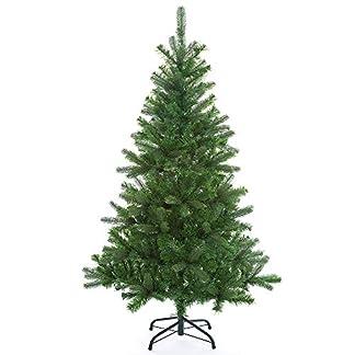 Casaria-Weihnachtsbaum-140cm-Metallstnder-knstlicher-Tannenbaum-Christbaum-Baum-Tanne-Spritzguss-Christbaumstnder-Mix