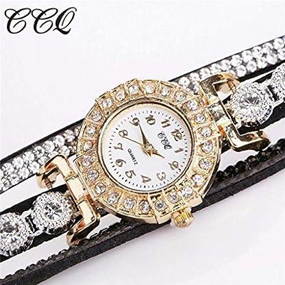 SAMGU-Frauen-Mdchen-Damen-Schne-Mode-Design-Strass-Armband-fr-Weibliche-Uhren