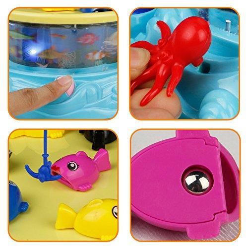 DQ-manetic-Angeln-Spiel-Set-Licht-Spieluhr-Karussell-mit-2-Kinder-Angel-fr-Kinder-Alter-3