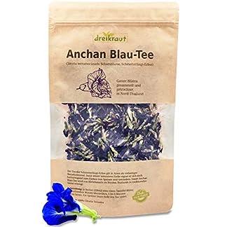 Blau-Tee-Anchan-Ganze-Blten-der-Schmetterlings-Erbse-Butterfly-pea-Schamblume-handverlesen-im-thailndischen-Bergland-30g