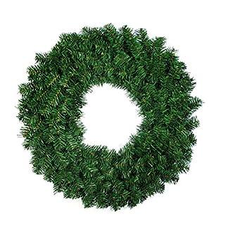 Weihnachtskranz-OULII-Krone-Weihnachten-fr-die-Dekoration-zum-Aufhngen