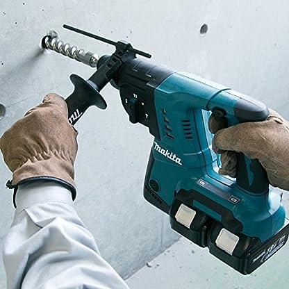 Makita-Akku-Bohrhammer-fr-SDS-Plus-2-x-18-V-ohne-Akku-und-Ladegert-DHR263Z