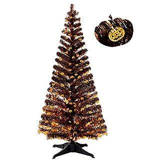 YuQi-Knstliche-Bume-152-cm-zusammenklappbar-mit-Stnder-Abstand-50-wiederverwendbar-fr-Halloween-Partys-nchstes-Neujahr-Hochzeit-Saisonale-Dekoration-und-Party-Pumpkin