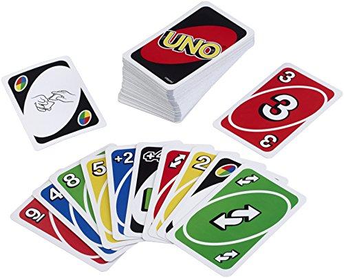 Uno Anzahl Karten