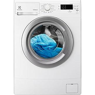 Electrolux-EWS1274SDU-EWS1274SDU-Waschmaschine-freistehend-Ladung-vorne-wei-links-Silber-7-kg