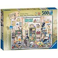 Ravensburger-Crazy-Cats-Vintage-No7-Knit-one-Purrl-one-Puzzle-500-Teile