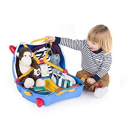 Trunki-Trolley-Kinderkoffer-Handgepck-fr-Kinder-Paddington-Br-Blau