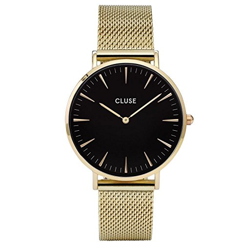 Cluse-Damen-Armbanduhr-Analog-Quarz-Edelstahl-CL18110