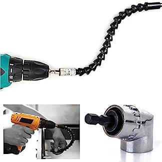Teabelle-105-Winkel-14-6-mm-Verlngerung-Hex-Bohrer-mit-300-mm-Flexibler-Schaft-Bits-Schraubendreher