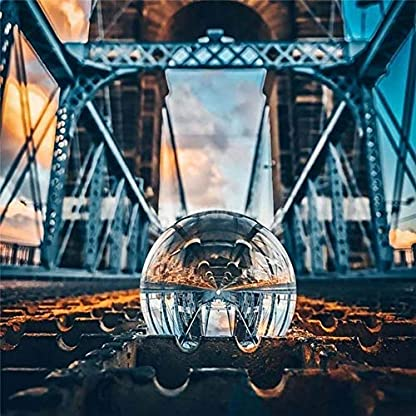 Surenhap-Glaskugel-Fotografie-K9-Kristallkugel-Knstliche-Kristallkugel-Kugel-Glas-Magischer-Ball-Dekoration-Lensball-Verzierungs-Spielzeug